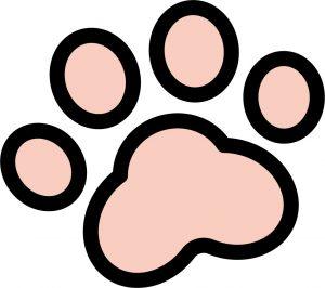 犬の肉球(ピンク)