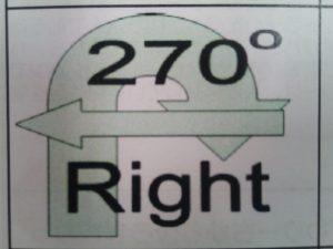ラリーオビディエンス 270度ヒールポジション