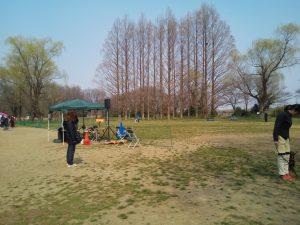秋ヶ瀬公園 OPDESチームテスト